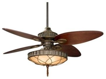 Bayhill Ceiling Fan With Light   Contemporary   Ceiling Fans   Lumens