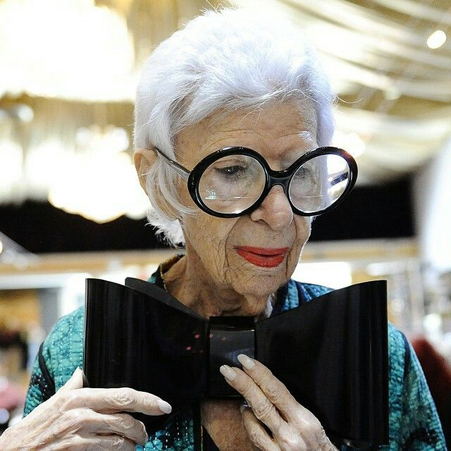 25 Best Ideas About Iris Apfel Young On Pinterest Iris