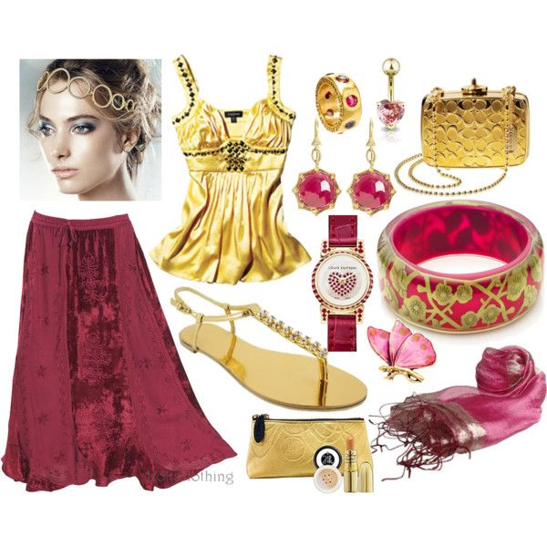 Ruby Gold, created by mzlorraine.polyvore.com