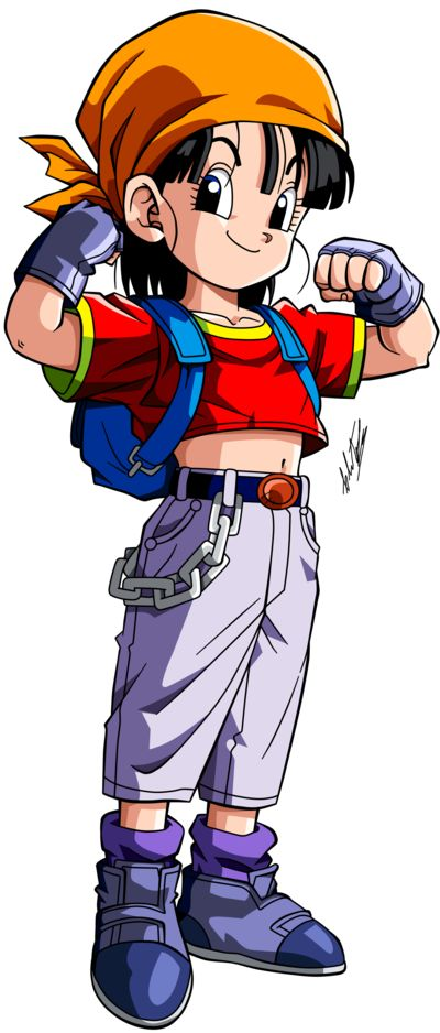 Dragon Ball GT =Pan v.3= by Krizeii.deviantart.com on @DeviantArt