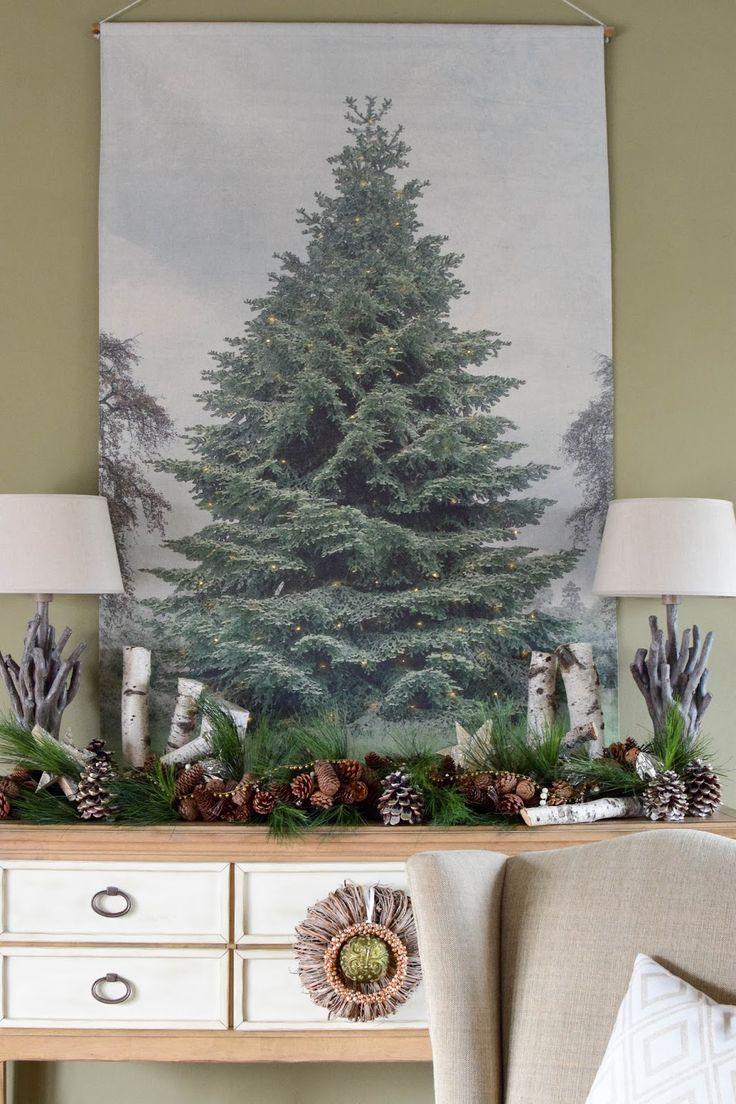 25 einzigartige wand weihnachtsbaum ideen auf pinterest - Weihnachtsbaum wand ...