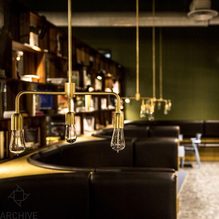 Ruben Lighting - Lord brass @Archive Galata