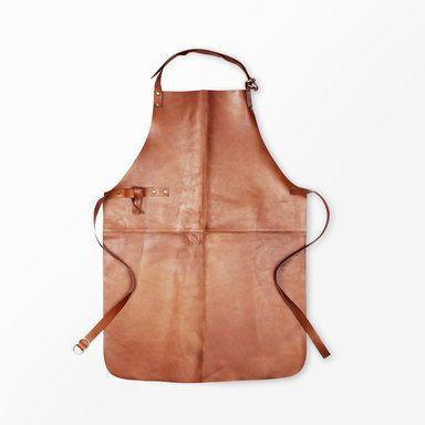 Förkläde Gourmet, brun