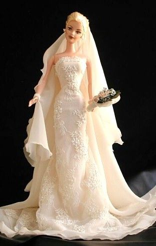 I knew barbie gowns could drape properly.