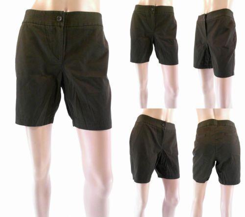 Tommy Bahama Jet Set Twill short Womens size 6 Flat Front Basic Shorts Sale CHOP