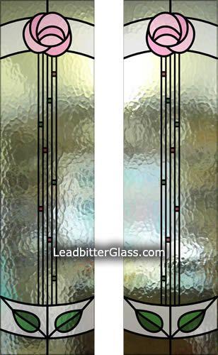 mackintosh stained glass door