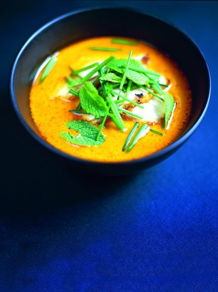 This pumpkin and ginger soup is a tasty, creative way to make use of the…
