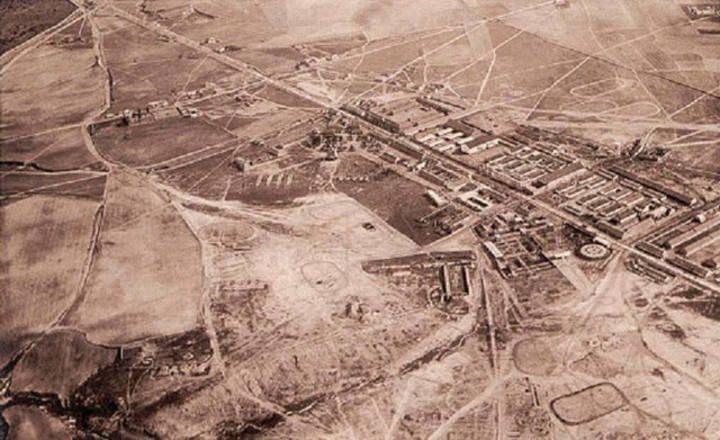 Zona de Campamento en 1930