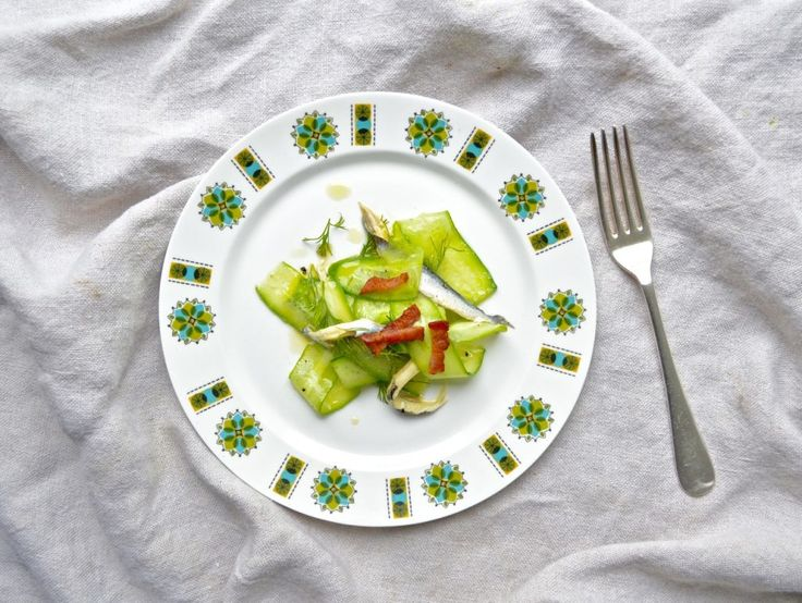 Anchovies & Cucumber