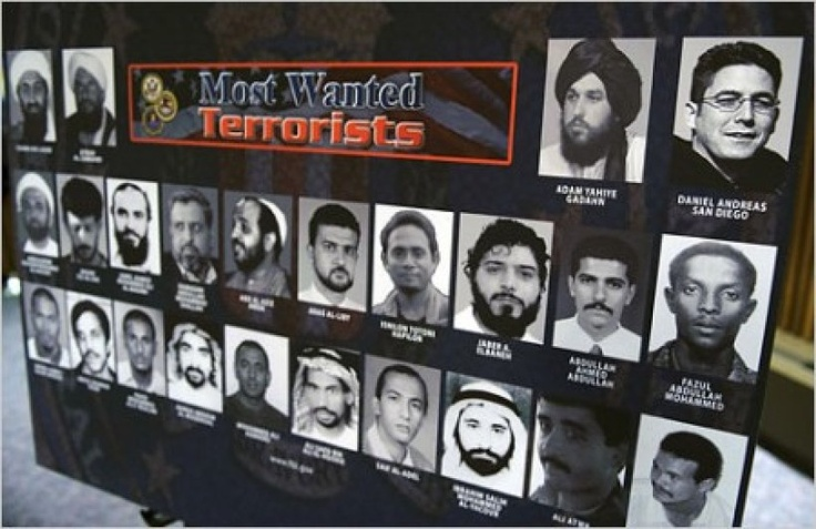 96% OF THE FBI'S MOST WANTED TERRORISTS ARE MUSLIM -- This is one of those cold hard facts that the Far Left utterly hates to see. The truth is the truth. It cannot be argued with. Statistics do not lie. The threat is real. The American political Left is WRONG, dead wrong about the issue of creeping Jihad within this country. [...] 05/02/13