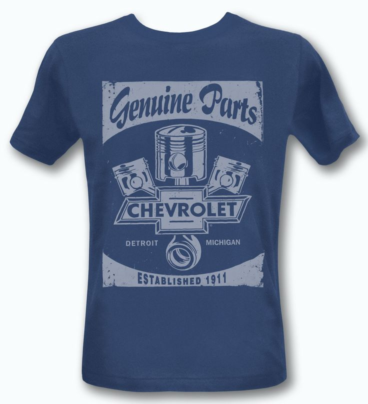 CHEVROLET VINTAGE BLUE T-SHIRT CUSTOM USA RETRO CHEVY TEE CAR RACING MOTORSPORT in Kleding en accessoires, Heren: kleding, T-shirts   eBay