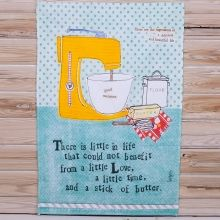 CURLTT02 - There Is Little In Life Tea Towel