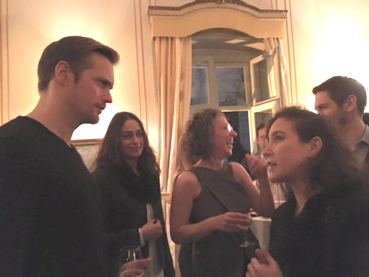 Fan photos of Alex in Istanbul, Turkey yesterday (February 19, 2016) including shots of him at the Istanbul Film Festival reception for him at the Swedish Consulate. Sources: ObenBudak twitter,...