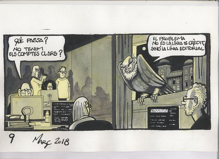 - What's going on? We do not have clear accounts? - The problem is not the line of credit but the line Editorial. #ferreres