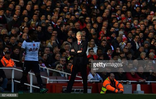 Arsenal's French manager Arsene Wenger watches his players... #leknesno: Arsenal's French manager Arsene Wenger watches his… #leknesno