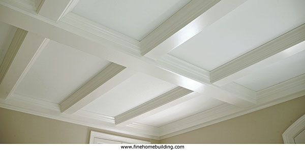 Tips for a Coffered Ceiling