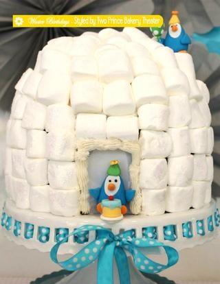Cute Igloo Cake