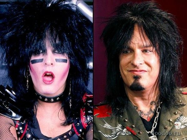 Frank Carlton Ferrano (Nikki Sixx) Then and Now