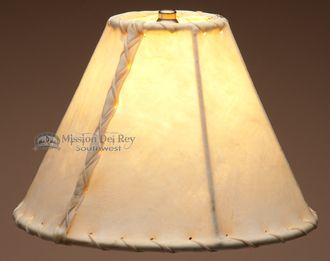 "Southwestern Rawhide Lamp Shade 10"""""