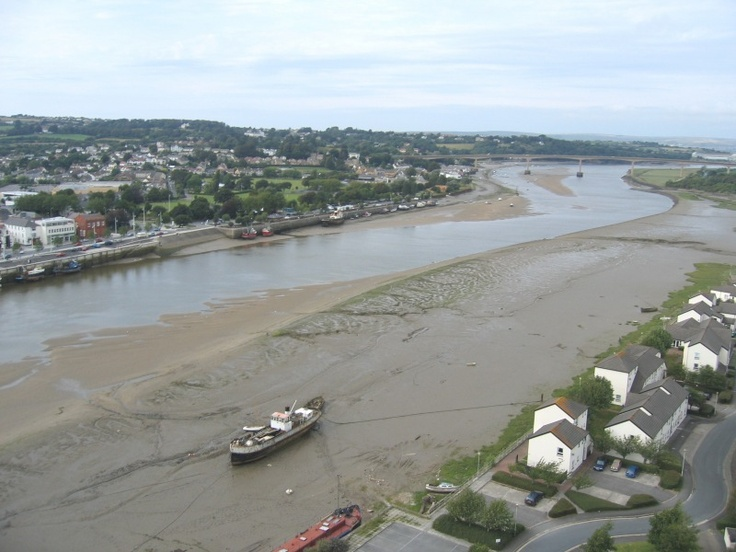 Tide is out, Bideford