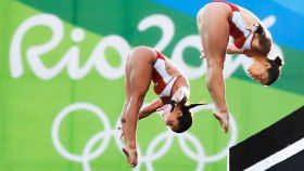 Maintaining their form through five highly competitive rounds, Roseline Filion and Meaghan Benfeito finished on the Olympic podium Tuesday, winning...