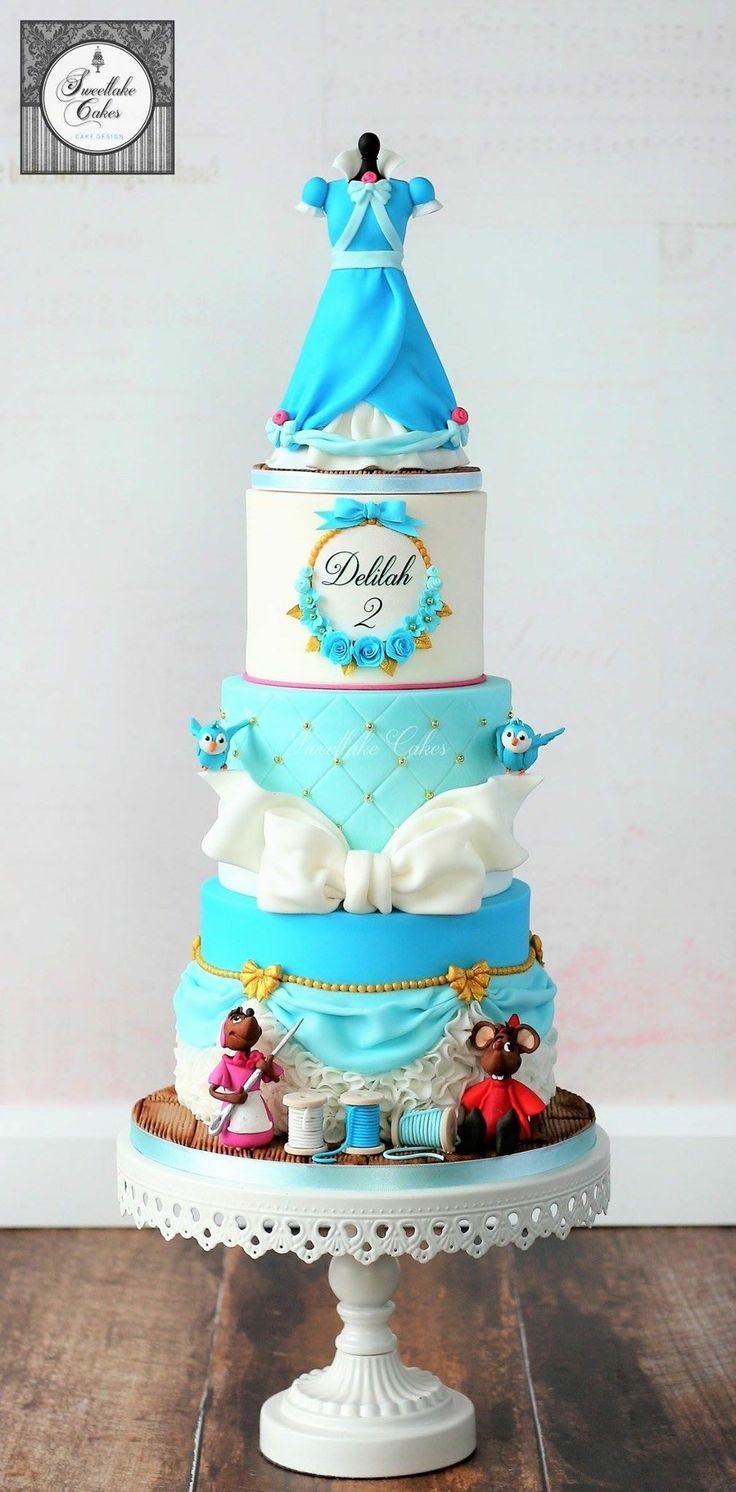 Pin By Nayda Vega On Cinderella Birthday Gateau