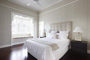 Southport - Restoration of Heritage Listed Home - transitional - Bedroom - Brisbane - Dan the Sparky Man