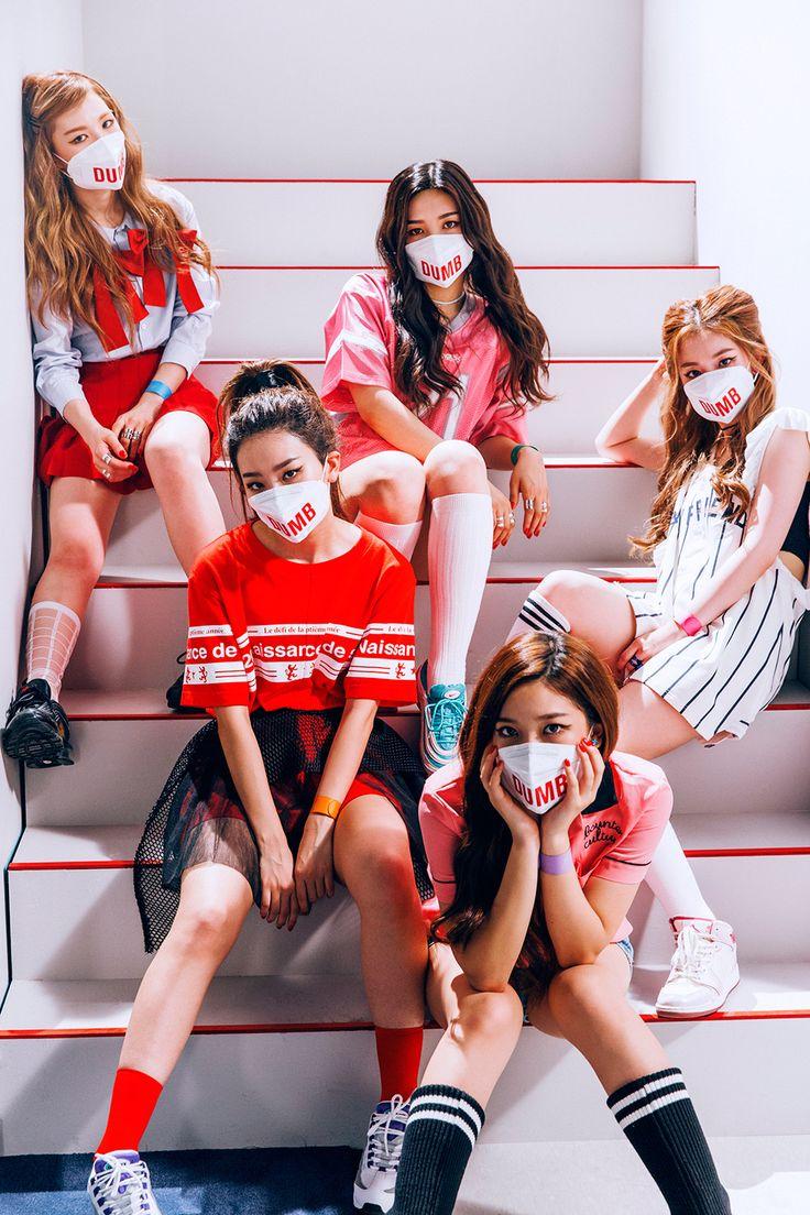 Red Velvet The Red Album Photo Shoot | Dumb Dumb