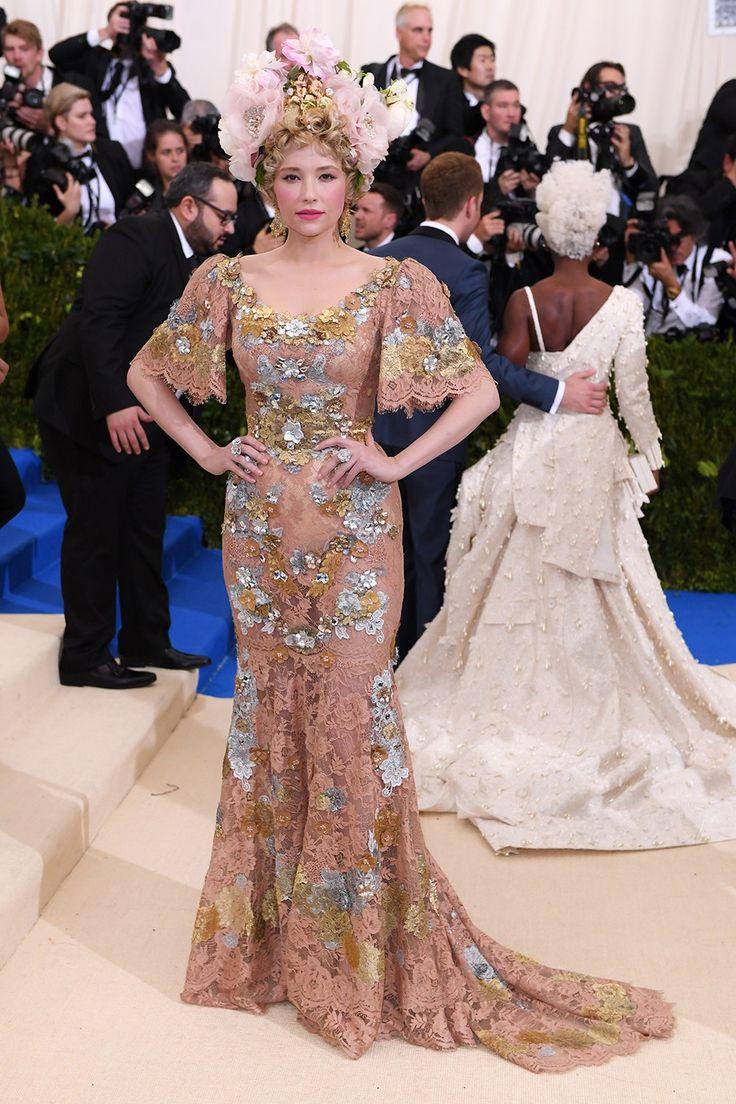 Hayley Bennett - Met Gala 2017 in Dolce & Gabbana