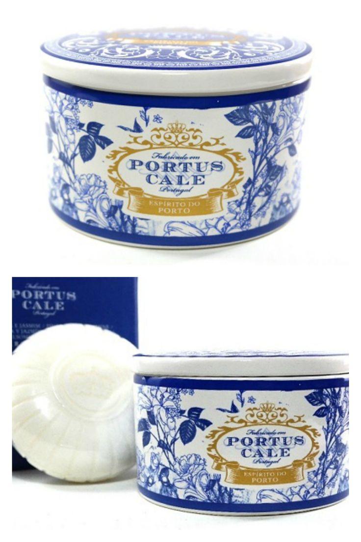 "Soap in porcelain box of Portus Cale, Castelbel             ""portuscale #castelbel #madeinportugal #soap #savon #jabon"