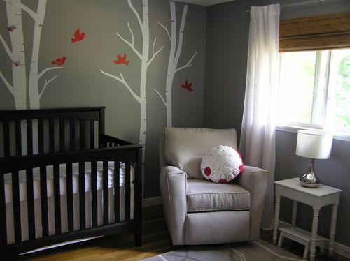 Tree Mural & Birds