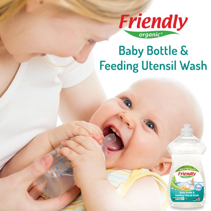 Do not use liquid dishwashing detergent when cleaning the baby bottle! Because chemical substances found in these detergents adversely affect the baby's health. You can safely use Friendly Organic Baby Bottle & Feeding Utensil Wash, which do not contain harmful chemicals.