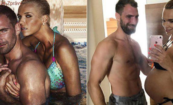 Hanka Mašlíková porovnala pupík s manželem: Pekáč versus velryba