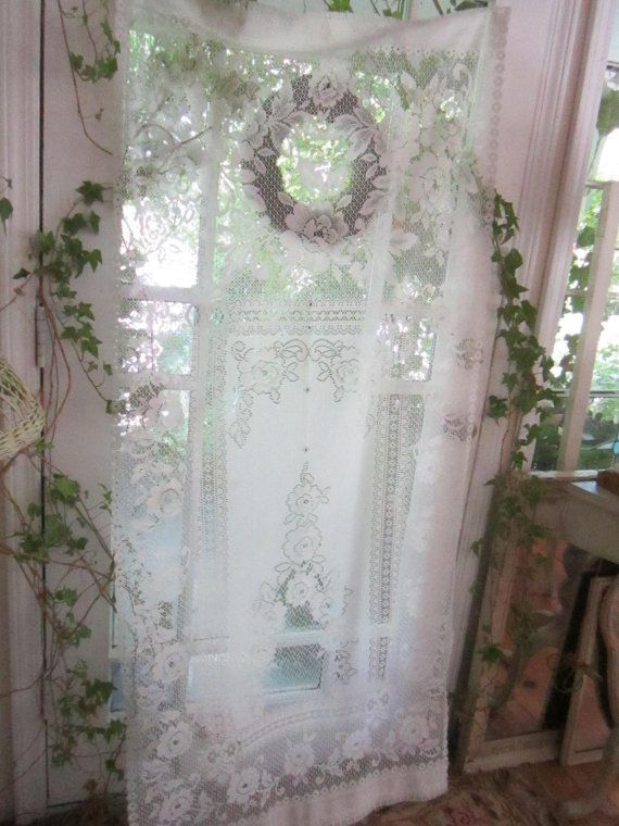 17 Best images about Curtains~So Pretty on Pinterest | Shabby chic ...