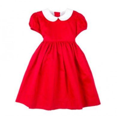 Rød paige dress fra Livly hos armerogben.no
