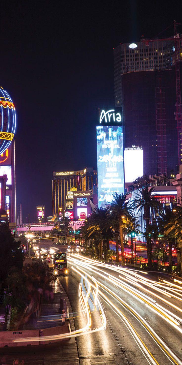 The neon lights of Las Vegas - by Sean Scott