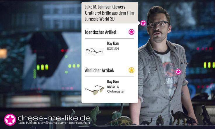 Jake M. Johnson (Lowery Cruthers) Brille (Ray-Ban RX5154) aus dem Film Jurassic World 3D
