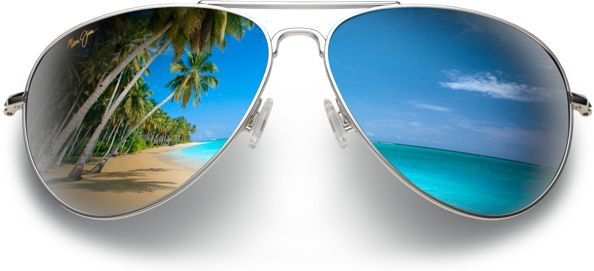 Maui Jim sunglasses feature patented PolarizedPlus2® lens technology for brilliant color so every detail is crisper and cleaner and without glare or harmful UV.