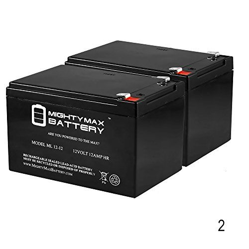 12V 12AH SLA Battery for Pride Mobility GoGo Ultra X 3Wheel  2 Pack  Mighty Max Battery brand product ** Visit the image link more details-affiliate link. #ElectricVehicles