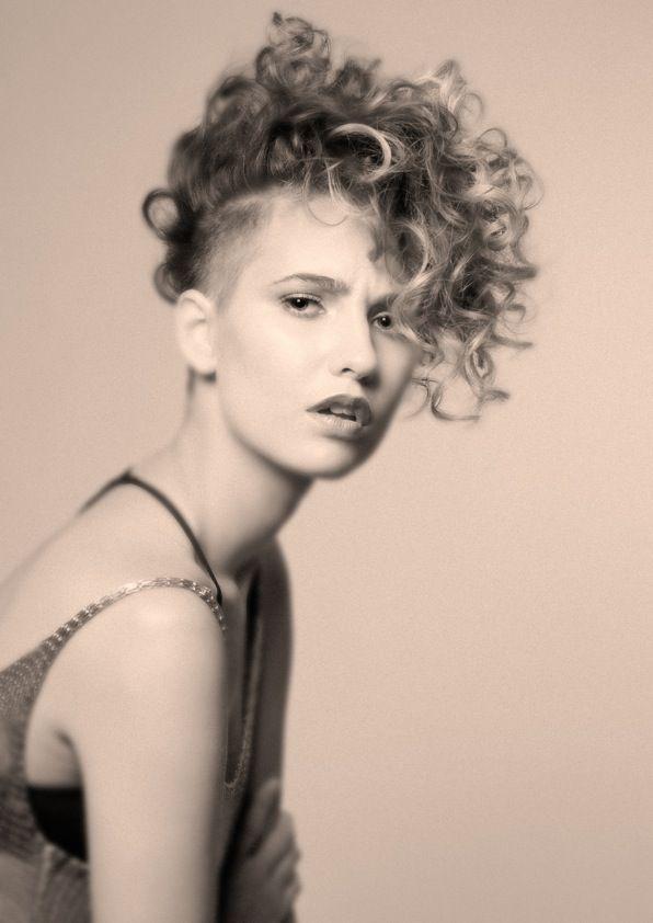 hair Undercut curls by @Ellie Sherlock Hanson Elly maxbrennerswife