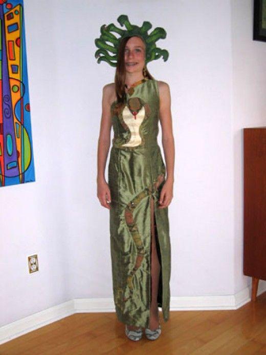 medusa halloween costumes - Medusa Halloween Costume Kids