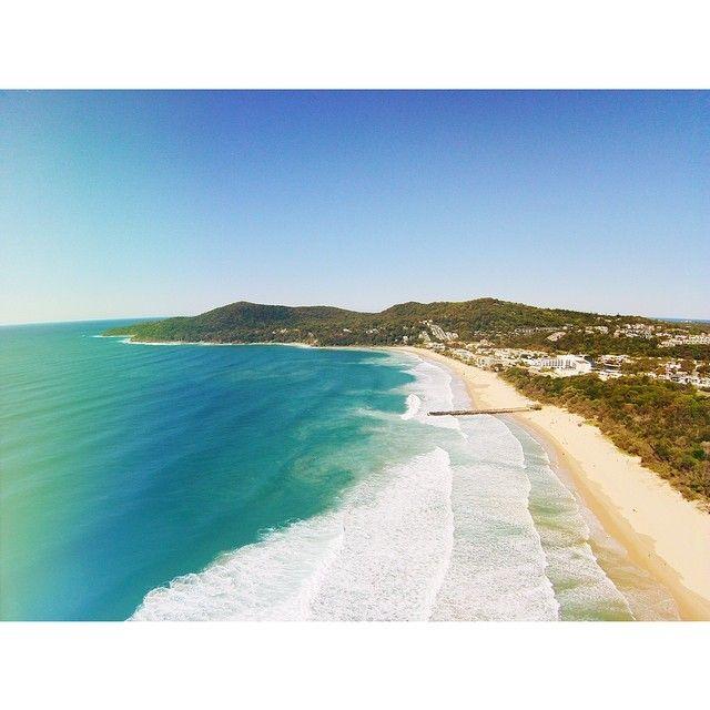 Noosa Beach in Noosa, QLD