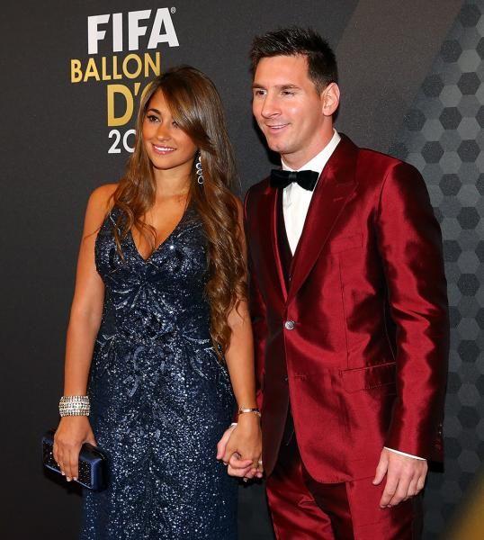 Futboller Lionel Messi Wife