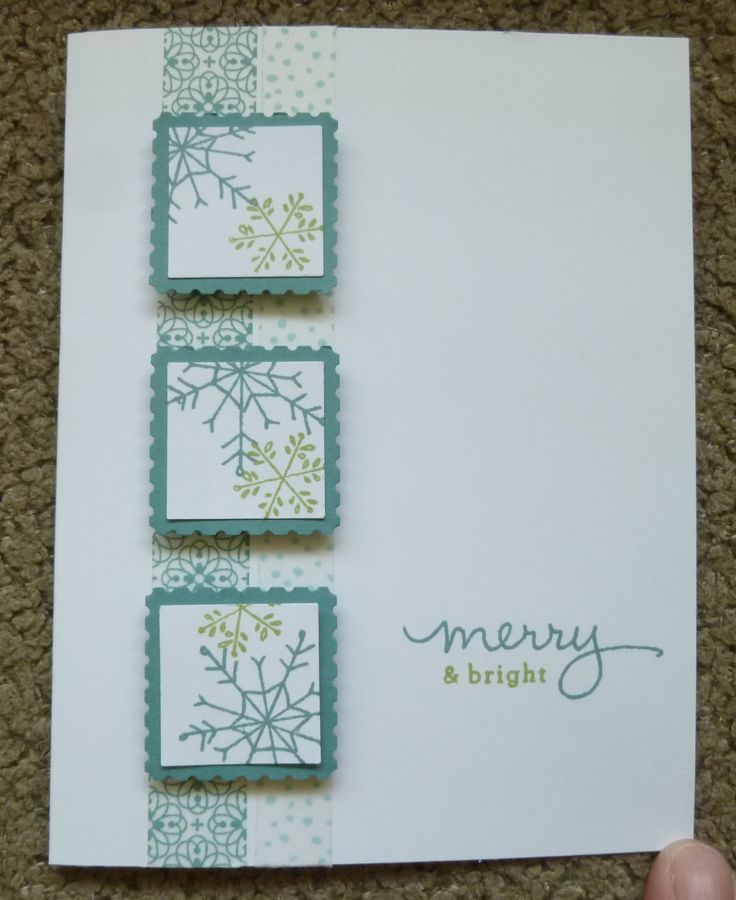 Christmas Card. Used Stampin' Up!'s Endless Wishes Photopolymer Stamp Set. For details, go to my Friday, September 25, 2014, blog at http://kmaurer.stampinup.net