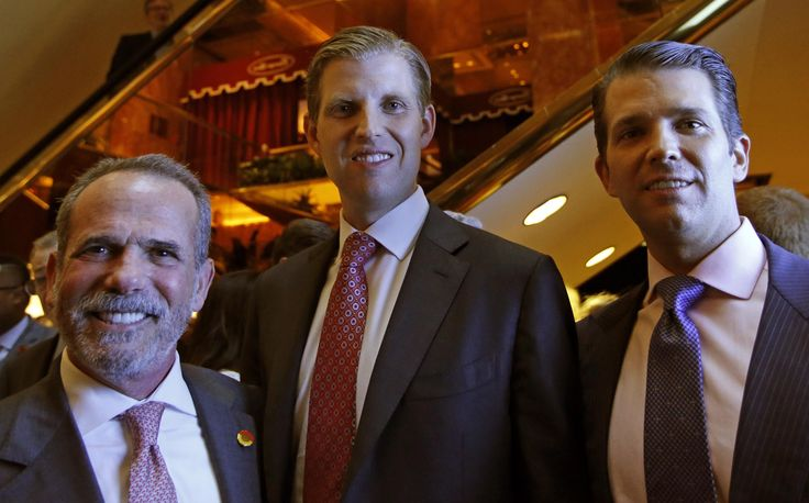 The Trump Family Has a New Hotel Brand Called American Idea  Eric Danziger CEO of Trump Hotels left joined Eric Trump center and Donald Trump Jr. both of whom are executive Vice Presidents of The Trump Organization in announcing the debut of the new Ameri