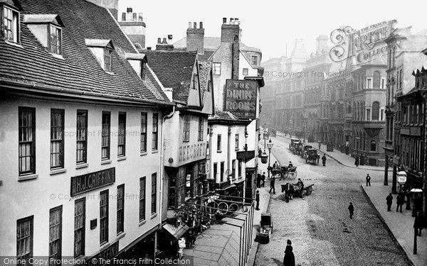 Nottingham, Cheapside 1890