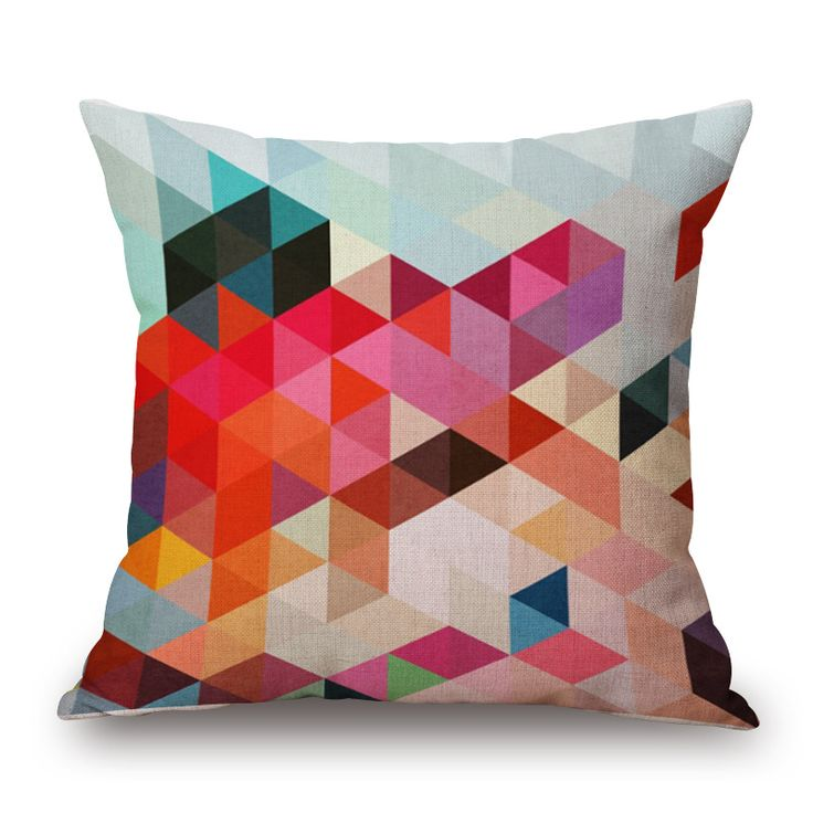 Vibrant Colorful Cushion Pillow Case That Will Add A Beautiful And Attractive Look To Your Throw Rugsthrow