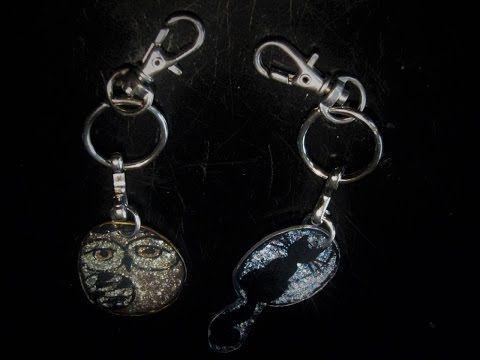 Ideas art for everyone, DIY - Joanna Wajdenfeld: Self-made key chains type…