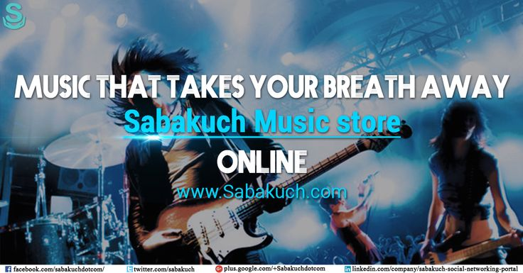 Music that takes your breath away, #Sabakuch #Music store online : https://goo.gl/ghhhfi