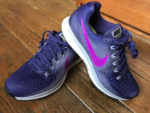 be825baddeec3 Womens Nike Air Zoom Pegasus 34 Ink/Hyper Violet 7.5 Shoe 880560 500 ...